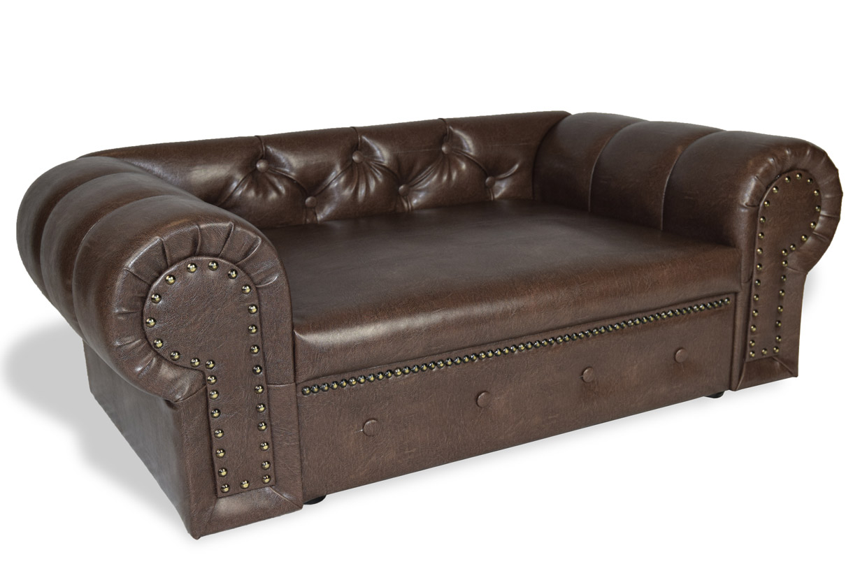 dog sofa dog bed ohio chesterfield design xl handmade in. Black Bedroom Furniture Sets. Home Design Ideas